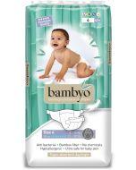 Pack42 Fraldas Ecológicas Biodegradáveis Bambyo (8-14 Kg)