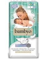 Pack40 Fraldas Ecológicas Biodegradáveis Bambyo (2-4 Kg)