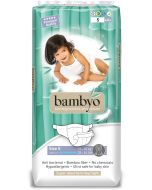 Pack 40 Fraldas Ecológicas Biodegradáveis Bambyo (13-20 Kg)
