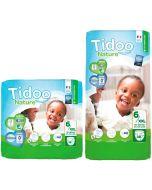 Fraldas Ecológicas Tidoo 6XXL (16-30Kg)