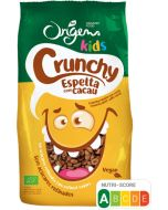 Crunchy Kids de Espelta com Cacau