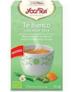 Infusão Ayurvédica Chá Branco com Aloe Vera
