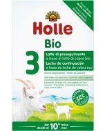 Leite de transição biológico 3 à base de leite de Cabra Holle