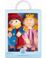 Pack 2 Fantoches Princesa e Kasper