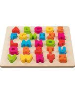 Puzzle Alfabeto 3D