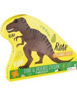 Puzzle 40 Peças Dinosauro T-Rex