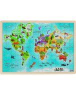 Puzzle de 192 Peças | O Mundo