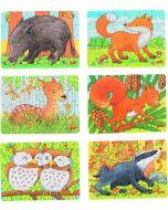 Puzzle de 24 Peças   Animais da Floresta