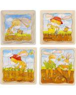 Puzzle em Camadas   Da Semente à Cenoura