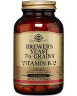 Suplemento de Levedura de Cerveja com Vitamina B12
