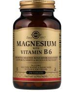 Suplemento de magnésio e Vitamina B6