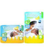 Fraldas Ecológicas Tidoo 2S Newborn (3-6 Kg)