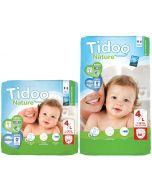 Fraldas Ecológicas Tidoo 4L (7-18 Kg)