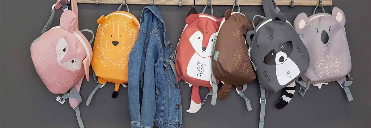 mochilas da creche animais